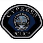 Cypress California Police Department